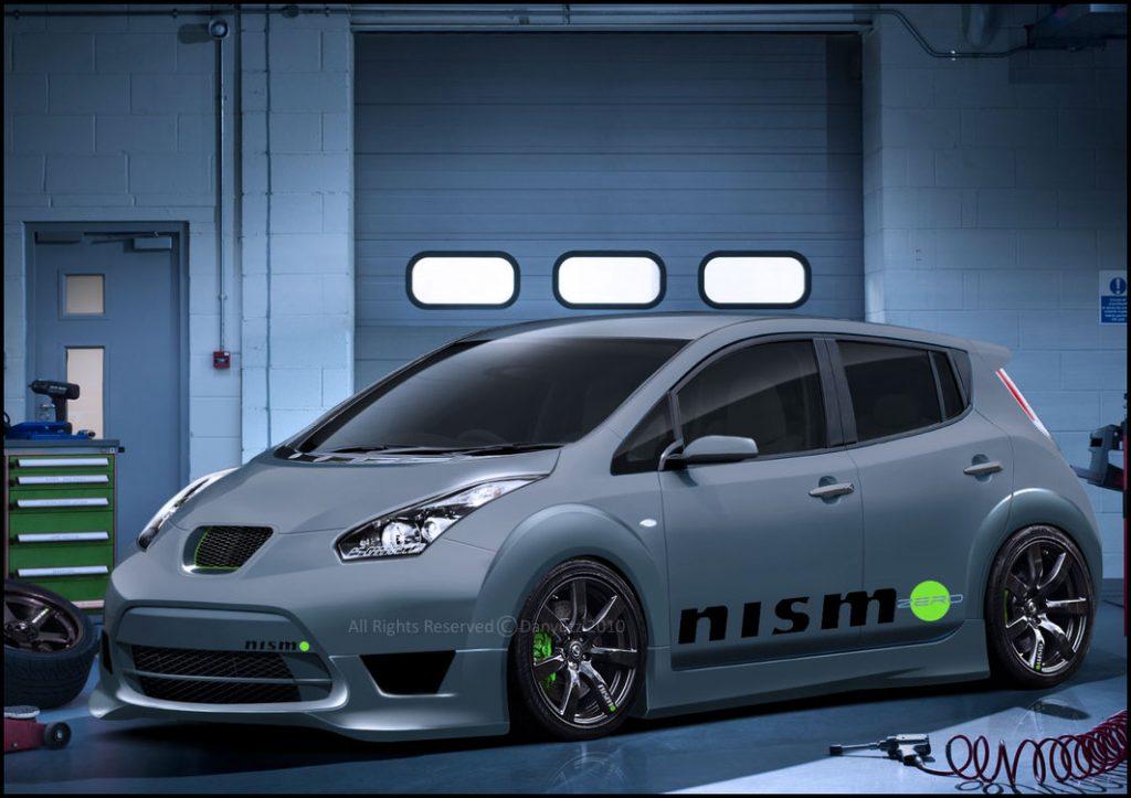 Тюнинг Nissan Leaf от ателье Nismo изображение поста