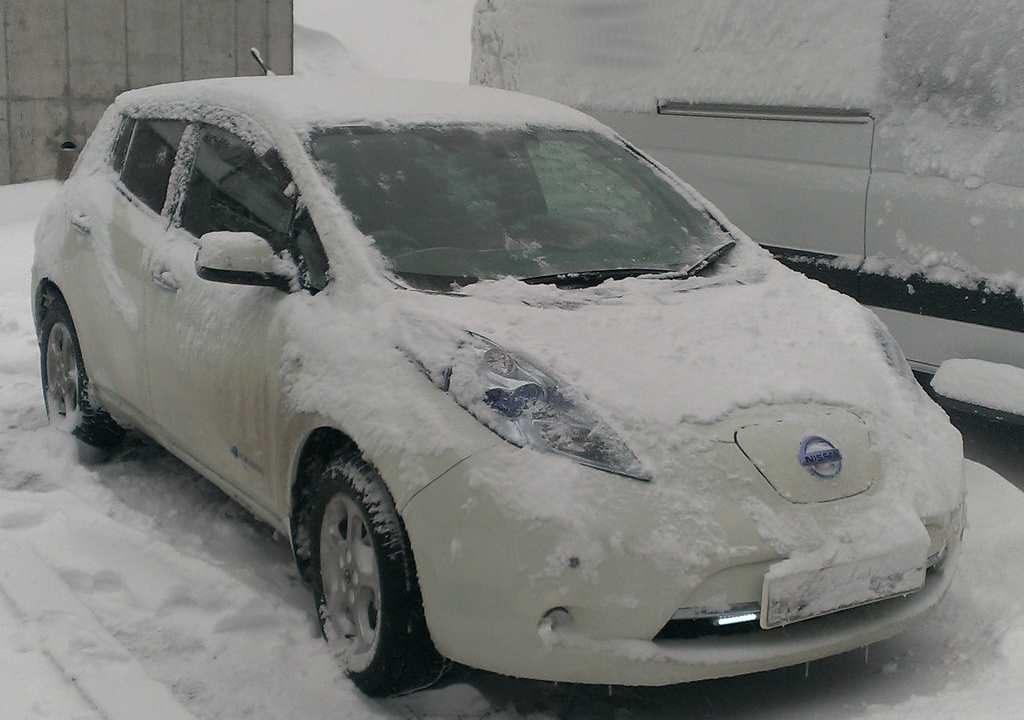 Как подготовить Nissan Leaf к зиме изображение поста