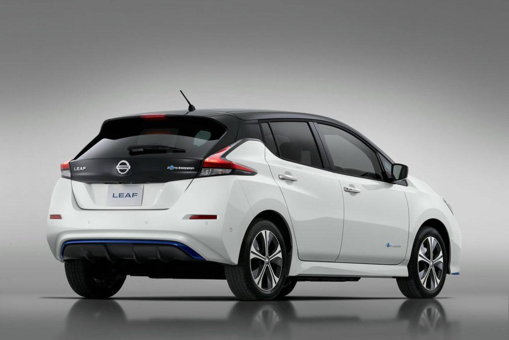 Небольшие преобразования Nissan Leaf изображение поста