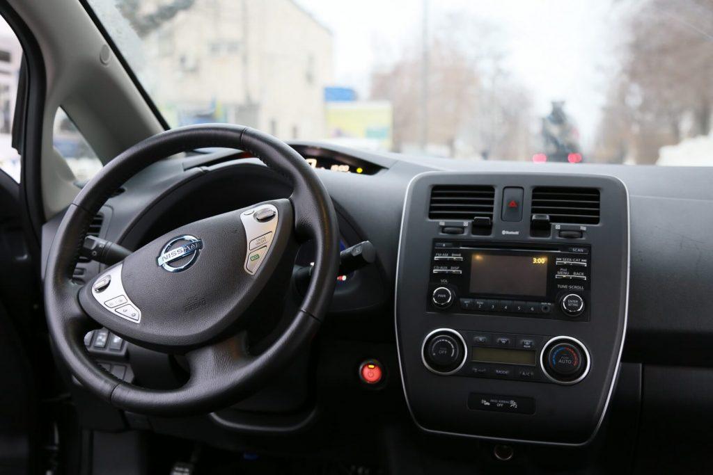 Небольшие преобразования Nissan Leaf