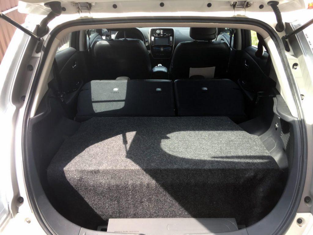 Nissan Leaf с двумя батареями